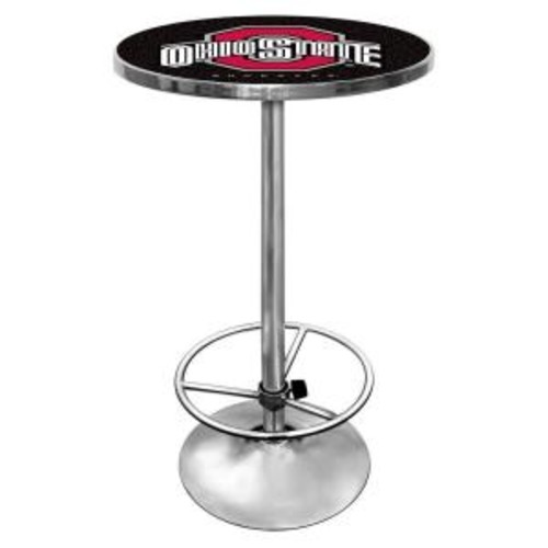Trademark The Ohio State University Chrome Pub/Bar Table