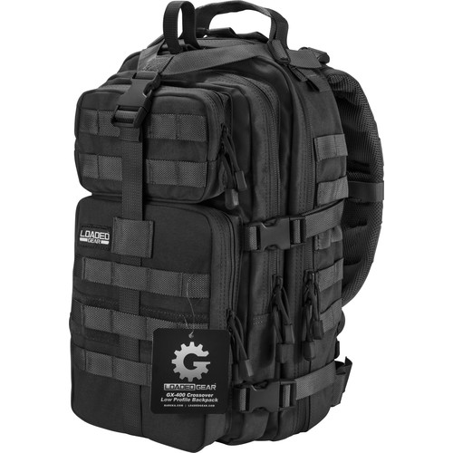 Barska Loaded Gear GX-400 Crossover Backpack (Black)
