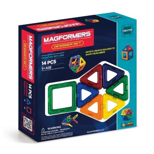 Magformers Rainbow 14-Piece Set