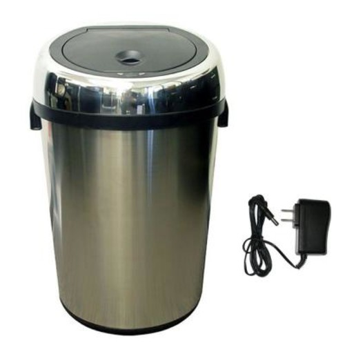 iTouchless 18 Gal. Stainless Steel Motion Sensing Touchless Trash Can