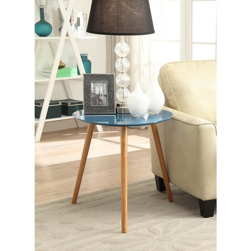 Convenience Concepts Oslo End Table - White