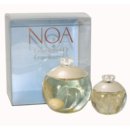 Noa Perfume by Cacharel for Women. Eau De Toilette Spray 3.4 Oz & Eau De Toilette Spray 1.0 Oz