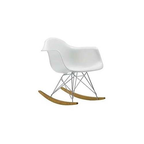 Rocker Arm Chair in White
