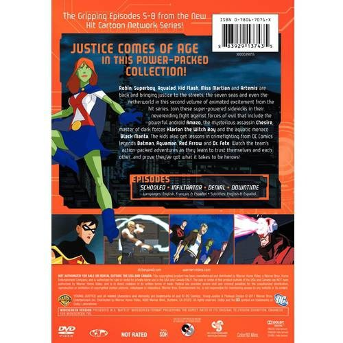 Young Justice: Season 1, Volume Two