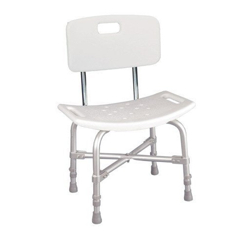 Drive Medical Bariatric Heavy Duty Bath Bench [White]