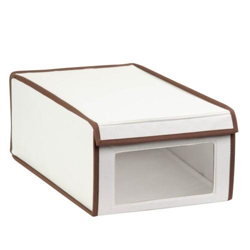 Honey-Can-Do Shoe Storage Box, 6 1/4