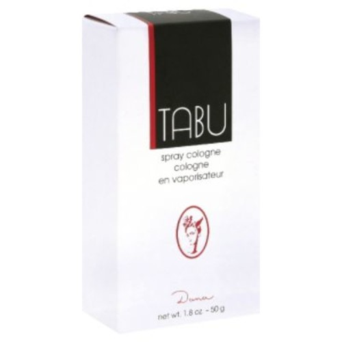 Dana Tabu Spray Cologne, 1.8 oz (50 g)