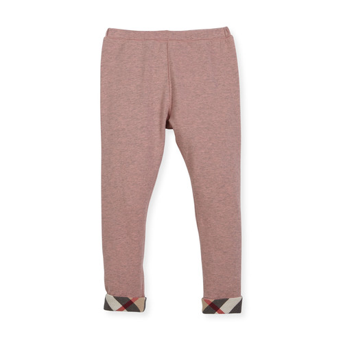BURBERRY Penny Stretch Jersey Leggings, Size 2