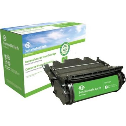 Sustainable Earth by Staples Remanufactured Black Toner Cartridge, Lexmark 64015SA, 64015HA, 64035HA, 64004HA