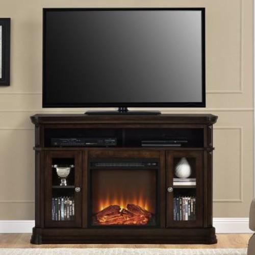 Astoria Grand Ganado TV Stand w/ Electric Fireplace