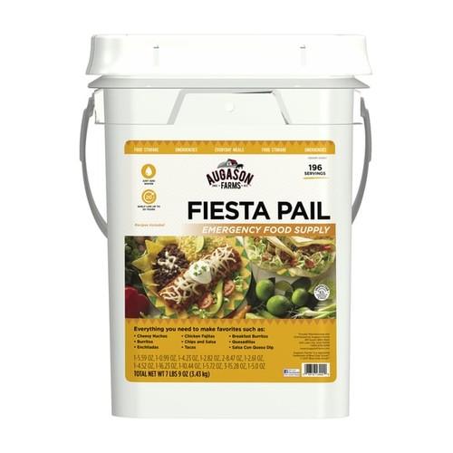 Augason Farms Fiesta Pail, Emergency Food Supply, Mexican Food