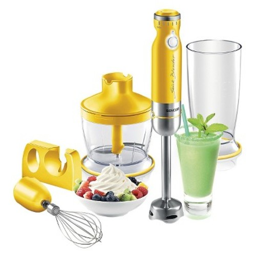 Sencor Hand Blender Set - Yellow