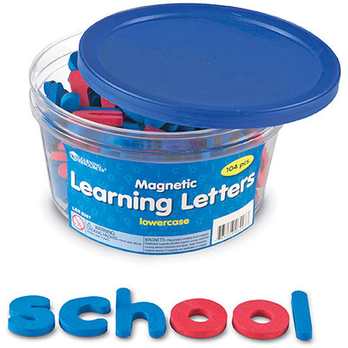 Learning Resources Magnetic Learning Letters - Lowercase [Standard Packaging]