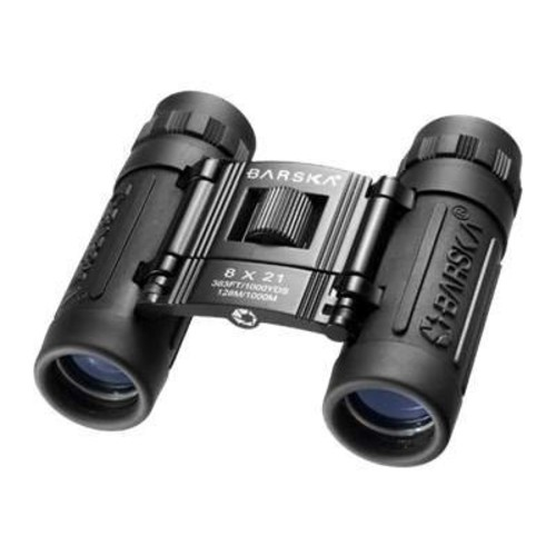BARSKA Lucid View Compact Binoculars [8x21]