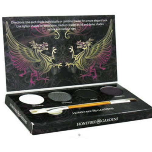Honeybee Gardens, Eye Shadow Palette, Rock the Smokey Eye, 4 Shadows, 0.045 oz (1.3 g) Each