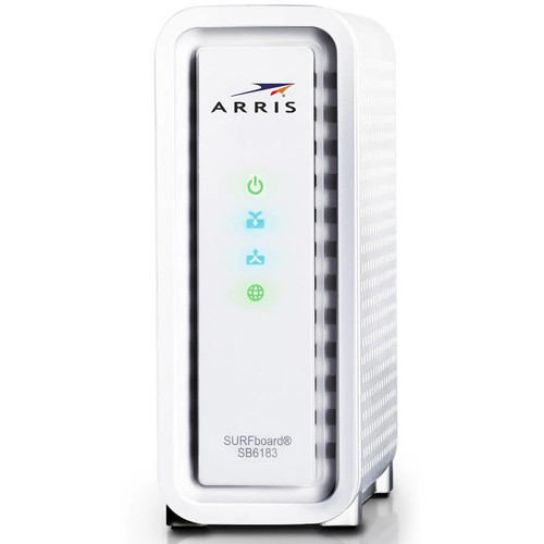 ARRIS SURFboard SB6183 Cable Modem and ARRIS SBR-AC1900P SURFboard WiFi Router