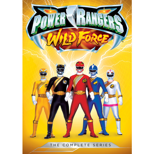 Power Rangers: Wild Force - The Complete Series [5 Discs] [DVD]