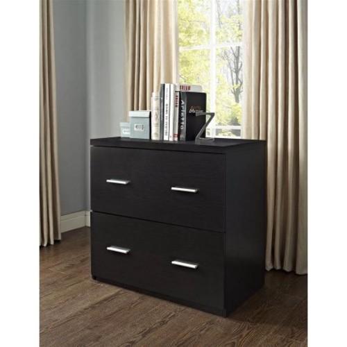 Princeton Lateral File Cabinet for Home Office in Espresso