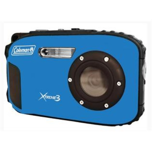 Coleman HD Waterproof Digital Camera in Blue