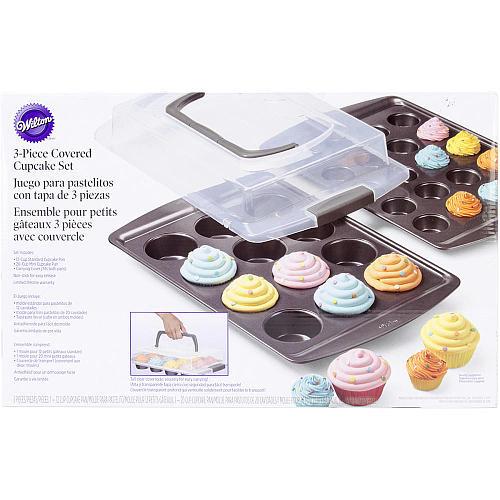 Wilton Covered Cupcake Set - 3 piece