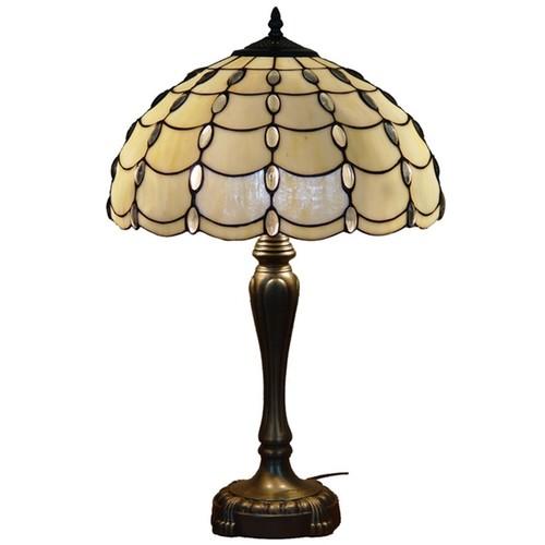 Amora Lighting Tiffany Style Cascades Table Lamp