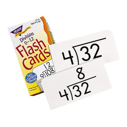Trend(R) Skill Drill Flash Cards, Division, Set Of 91