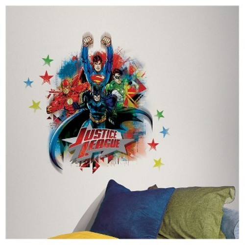 RoomMates Justice League Peel & Stick Giant Wall Decals