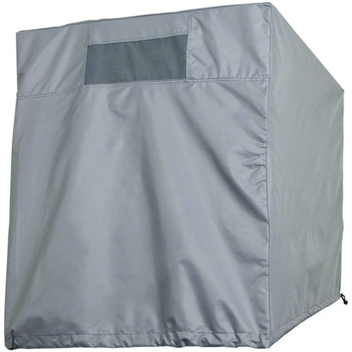 Classic Accessories Down Draft Evaporative Cooler Cover  Gray, Fits 41in.W x 41in.D x 37in.H Coolers, Model# 52-022-211001-00
