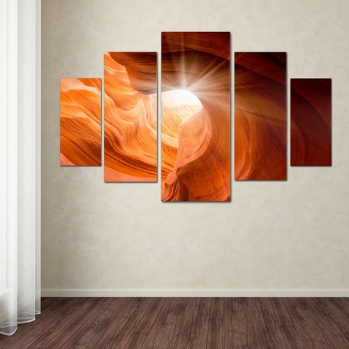 Smooth 5-piece Canvas Wall Art Set