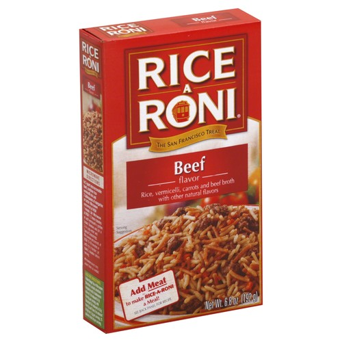 Rice A Roni Rice, Beef Flavor 6.8 oz (192 g)