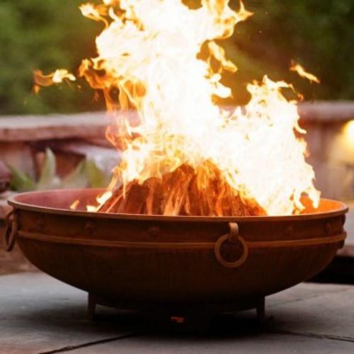 Fire Pit Art Asia Steel Wood Fire Pit