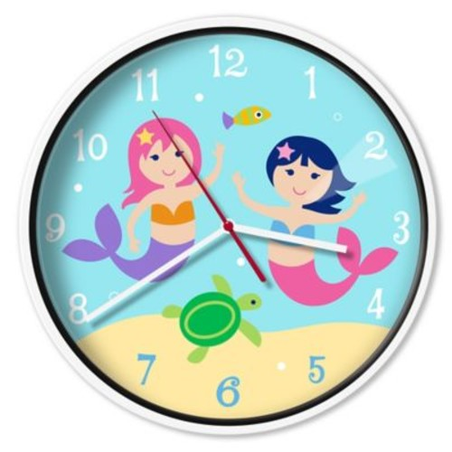 Olive Kids Mermaids Wall Clock