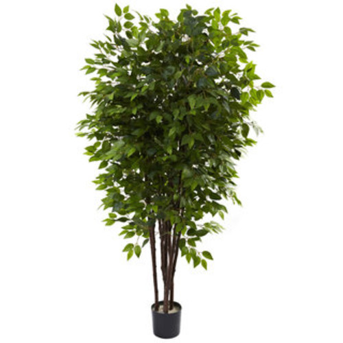 Nearly Natural Artificial Plants Smilax 6-foot Silk Tree