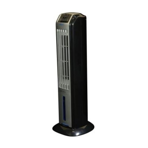 Air 320 CFM 3-Speed Portable Evaporative Cooler and Tower Fan for 100 sq. ft.