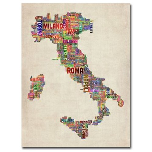 'Italy II' by Michael Tompsett Graphic Art on Canvas