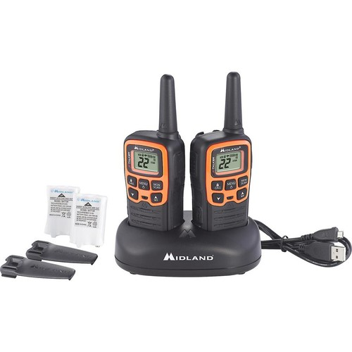 Midland X-Talker T51VP3 Two-way radio kit with charging dock