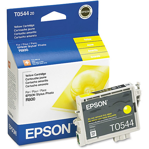Epson T054420 UltraChrome HiGloss Yellow Ink Cartridge