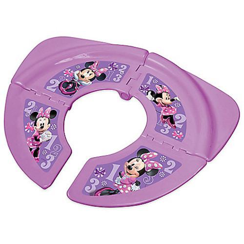 Disney Minnie Folding Travel Potty Seat with Storage Bag