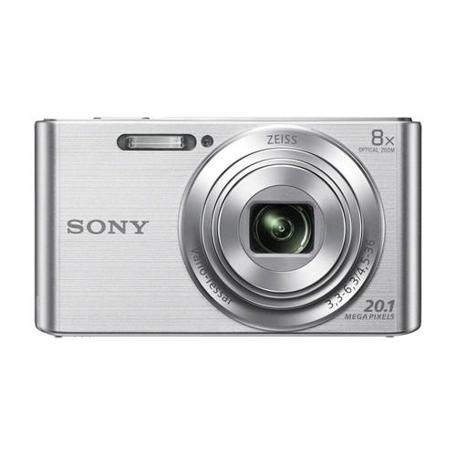 Sony DSCW830 DSCW830 W830 DSC-W830 DSC-W830 DSC-W830 20.1 Digital Camera with 2.7-Inch LCD (Silver) Bundle with 16GB Card, Deluxe Carrying Case, Mini Tripod, Lens Cleaning Kit + Much More