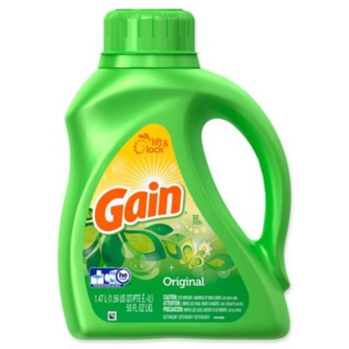 Gain 50 fl. oz. Liquid Laundry Detergent in Original