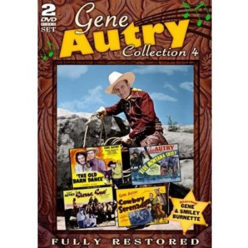 Gene Autry: Collection 4 (Full Frame)