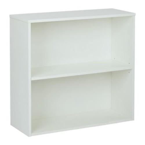 Pro-Line II Prado White Open Bookcase