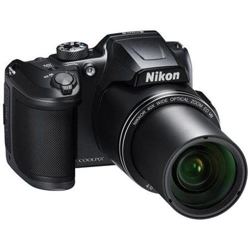Nikon Coolpix B500 Dig Point & Shoot Camera, Black 26506