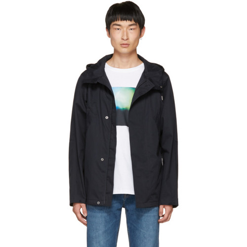 Navy Cliff Parka