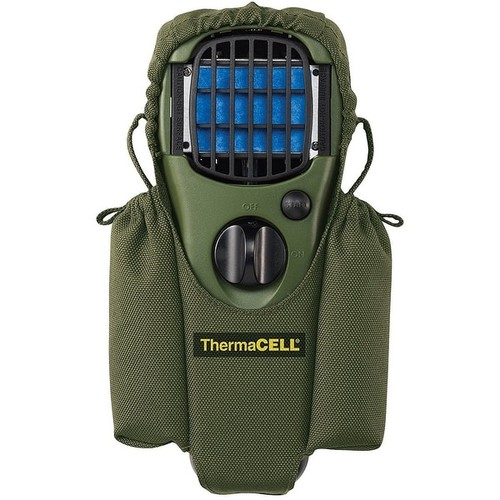 ThermaCELL Mosquito Repellent Camper Kit: Appliance Green+Holster + Value Refill