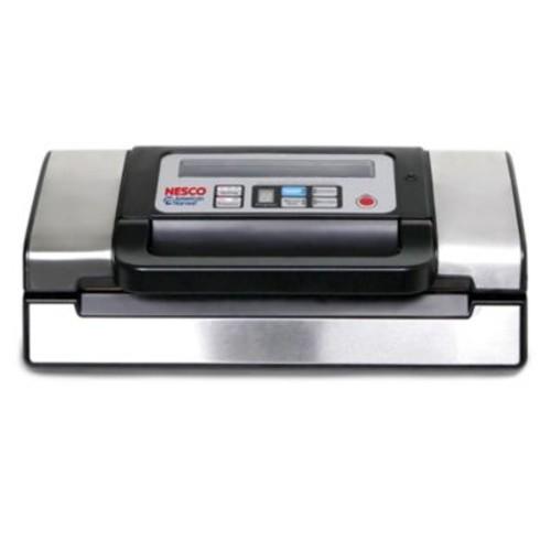 Nesco Deluxe Vacuum Sealer in Stainless Steel/Black
