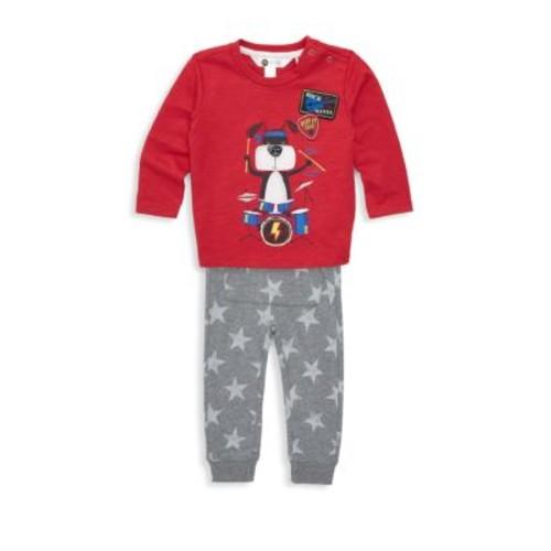 Petit Lem - Baby's Two-Piece top & Pants Set