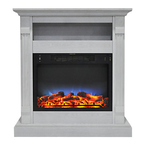 Cambridge Sienna Electric Fireplace With Multicolor LED Insert, 34