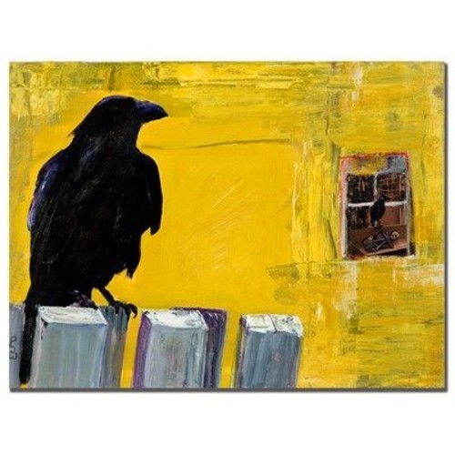 Watching by Pat Saunders-White, 18x24-Inch Canvas Wall Art [18 by 24-Inch]