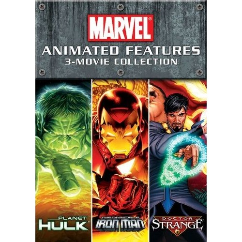 Marvel Animated Features 3-Movie Collection [2 Discs] [DVD]